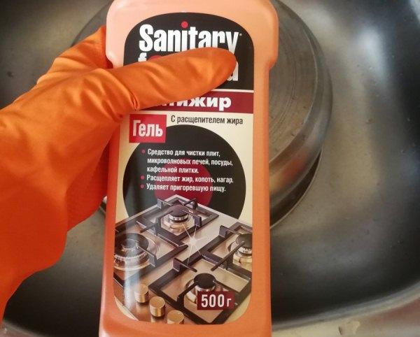 Sanitar для чистки духовки