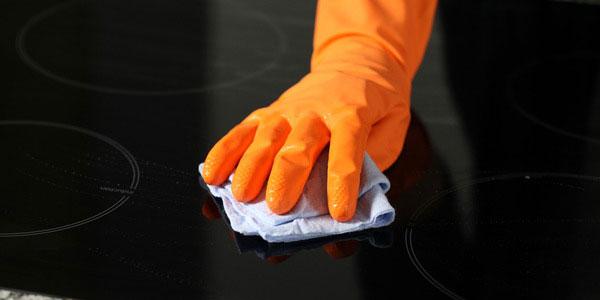 чистим плиту