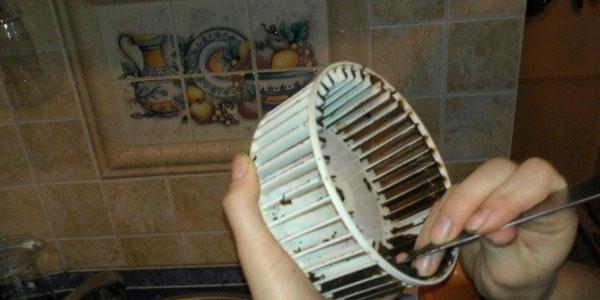 как мыть вентилятор мотор