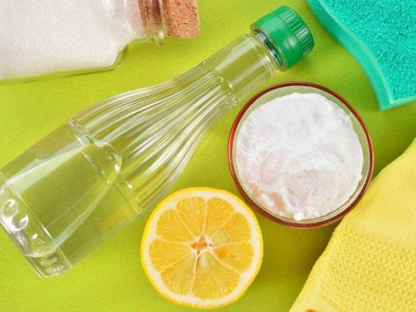 лимон и уксус для чистки