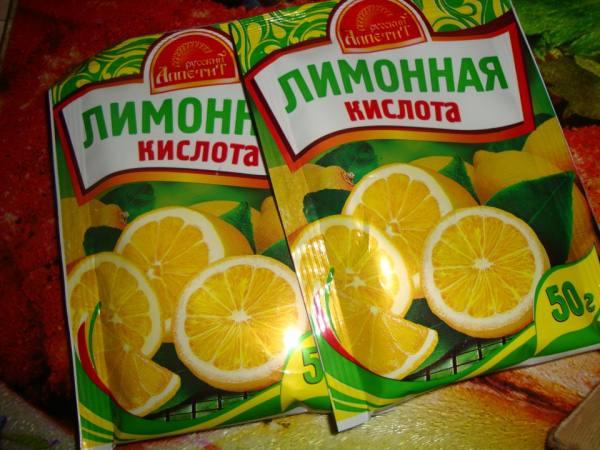 лимонная кислота для духовки