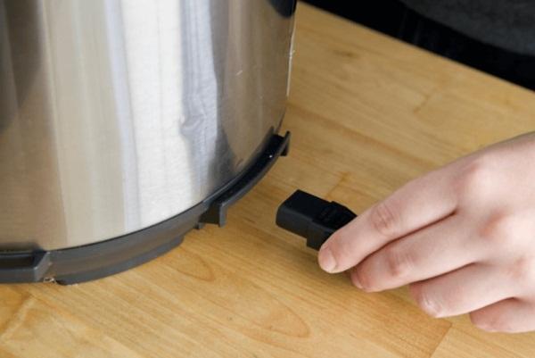 подготовка мультиварки к чистке