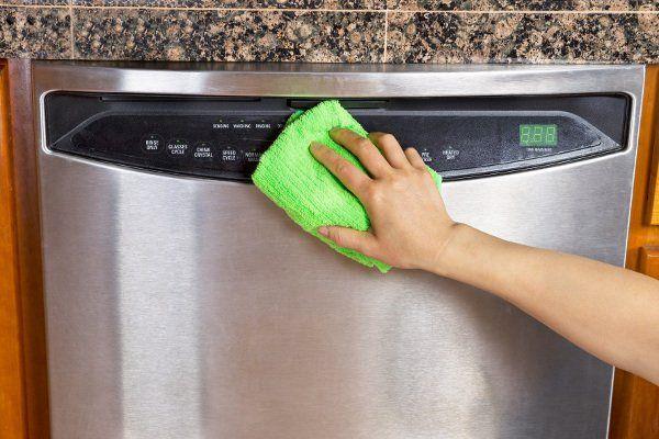 протираем посудомойку