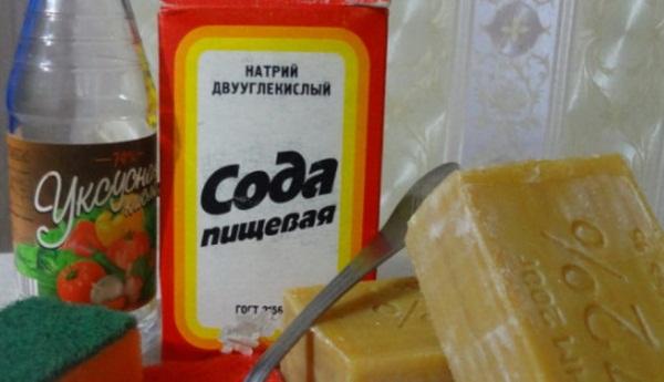 уксус для чистки духовки