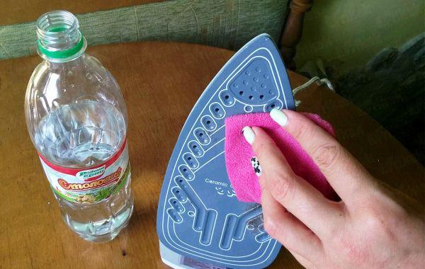уксус для чистки утюга