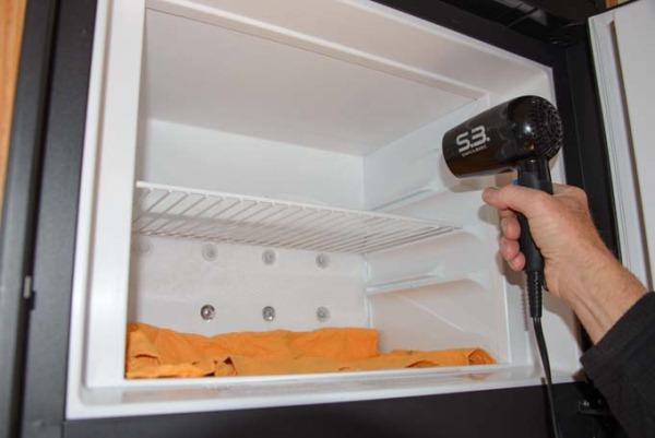 ускорение разморозки холодильника