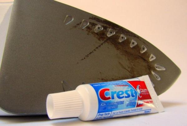 зубная паста для чистки утюга