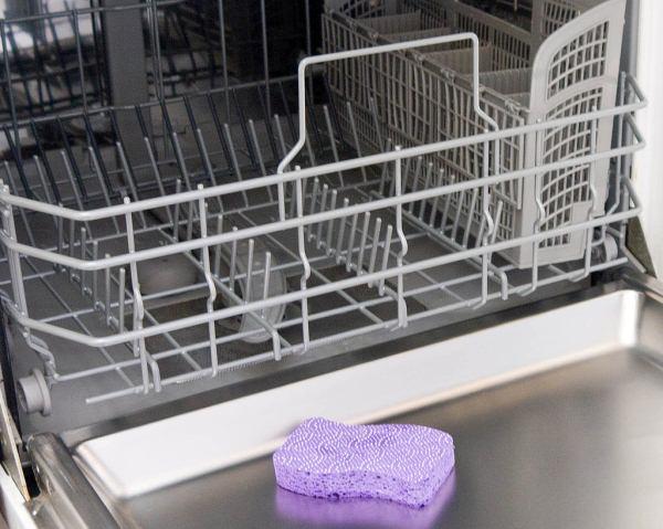 чистка корзинок посудомойки