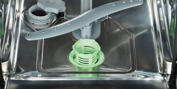 чистка сливного отверстия посудомойки