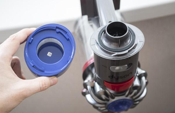 как мыть фильтр пылесоса