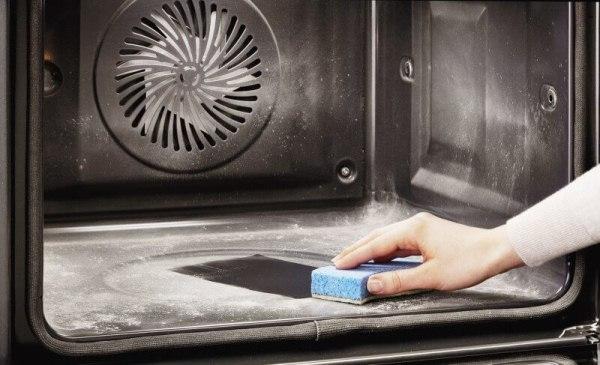 как почистить газовую духовку