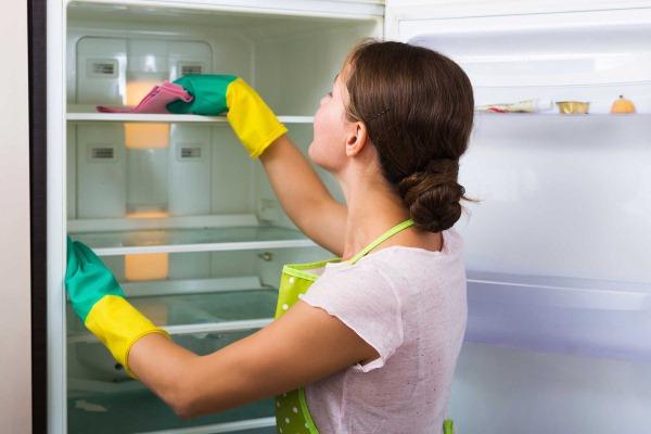 как помыть холодильник ноу фрост