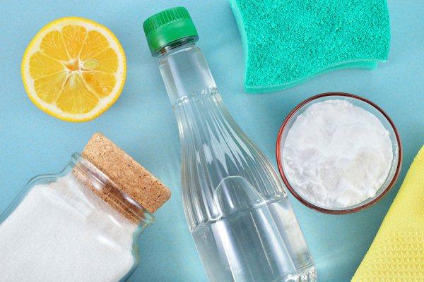 сода уксус и лимонная кислота для чистки духовки