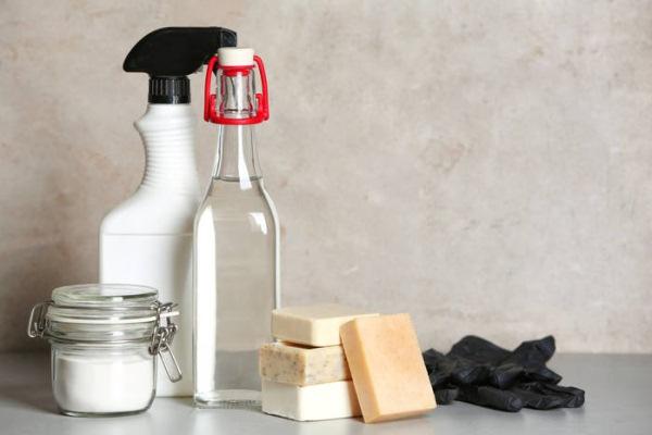 сода уксус и мыло для чистки духовки