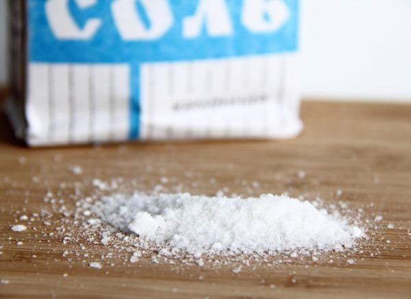соль для чистки духовки