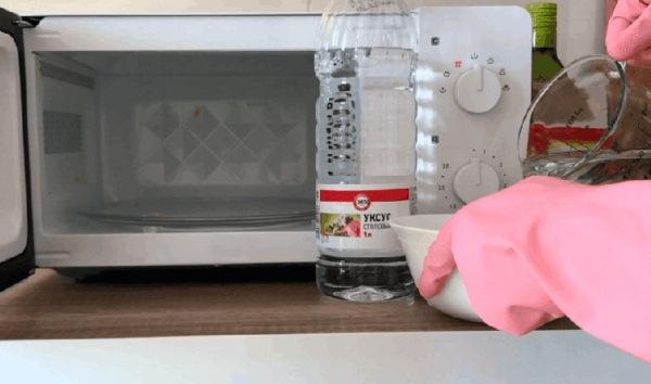 паровая баня для микроволновки