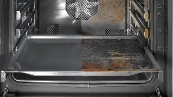 пиролитический метод очистки духовки