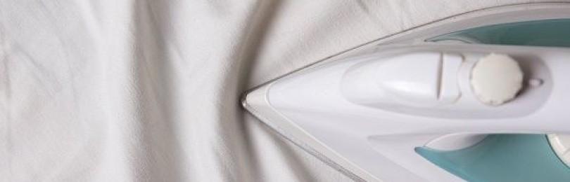 Как правильно гладить постельное белье после стирки утюгом или отпаривателем