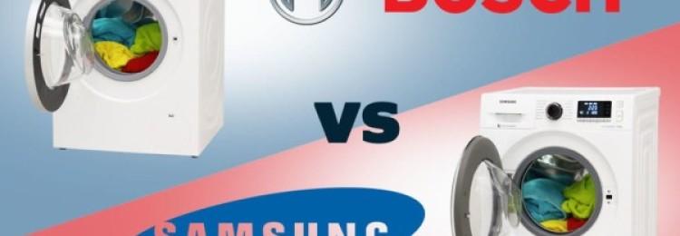 Стиральная машина Bosch или Samsung – какую лучше выбрать?