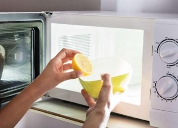 Простые 5 способов, как очистить микроволновку от жира внутри в домашних условиях лимоном