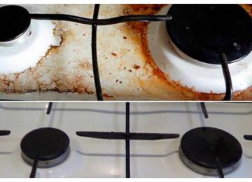 9 надежных и доступных советов, как очистить плиту от нагара