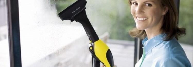 Простые пошаговые инструкции, как использовать парогенератор для мытья окон