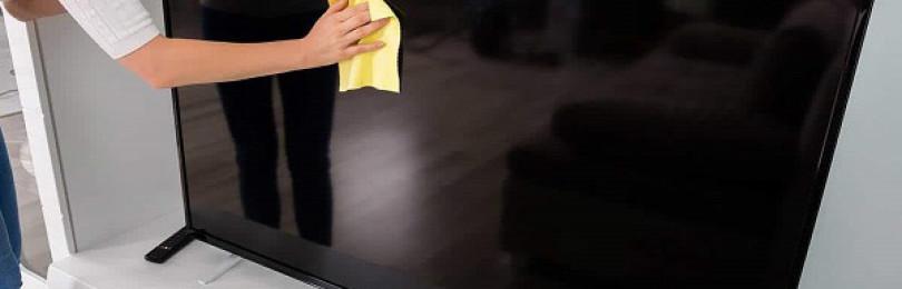 7 простых способов, как почистить экран ЖК телевизора в домашних условиях