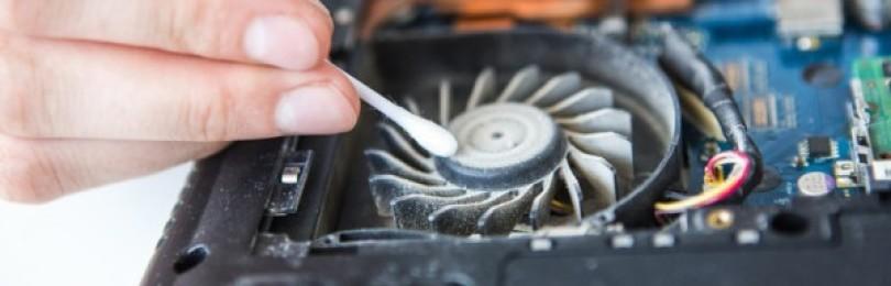 Как почистить ноутбук от пыли своими руками в домашних условиях