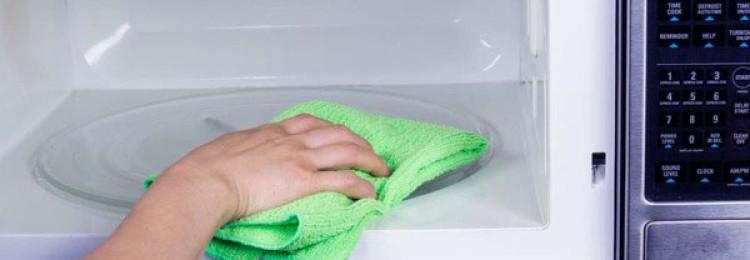3 простых рецепта, как помыть микроволновку внутри быстро в домашних условиях уксусом