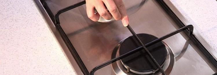 Надежные и простые 7 методов, как очистить чугунные решетки на газовой плите в домашних условиях
