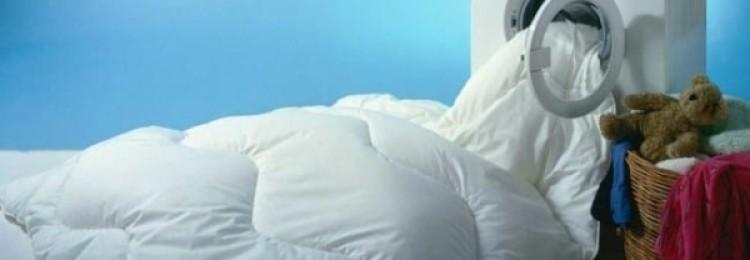 Пошаговые инструкции, как стирать пуховое одеяло в домашних условиях в машине автомат