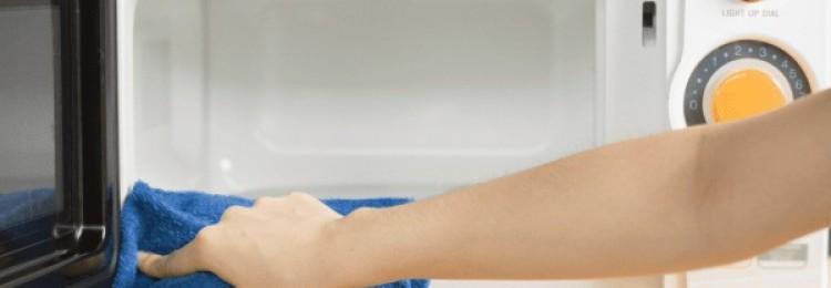 Надежные способы очистить микроволновку с помощью уксуса и соды в домашних условиях