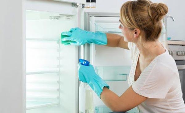 Чем мыть холодильник внутри после разморозки