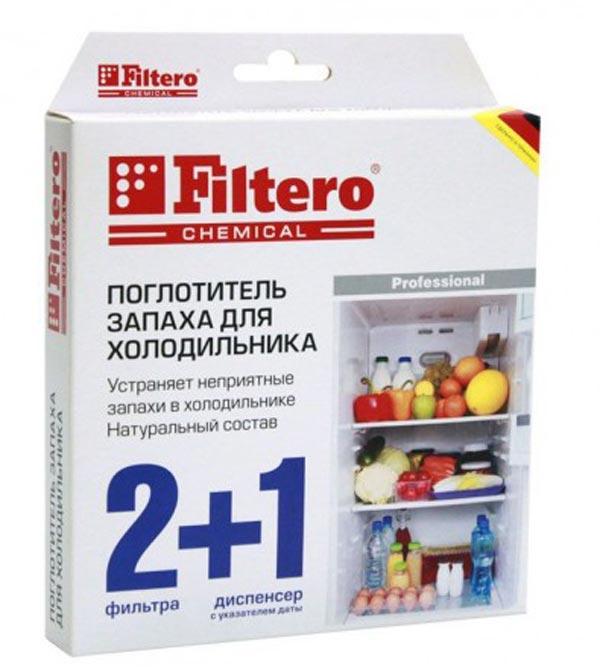 Поглотитель запаха filtero для холодильника