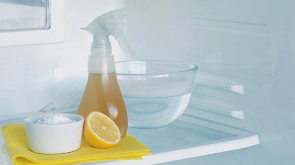 Народные методы для мытья холодильника